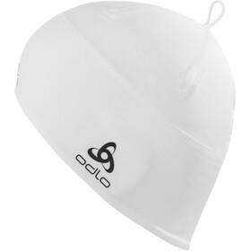 Odlo Polyknit Fan Gorra, white/norwegian flag